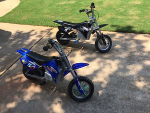 Razor Mx350 both for 355$ Excellent condition for Sale in Roswell, GA