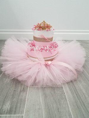 TuTu Princess Diaper Cake for Sale in Brea, CA