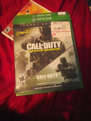 Cod legacy edition infinite warfare for Sale in Traverse City, MI