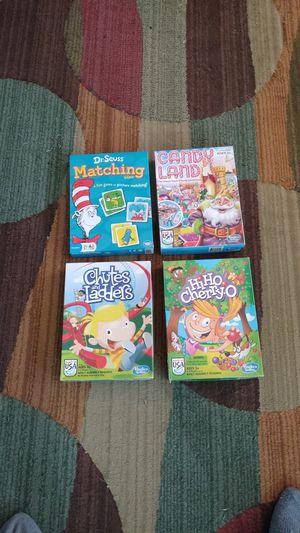 Kid board games for Sale in Arlington, WA