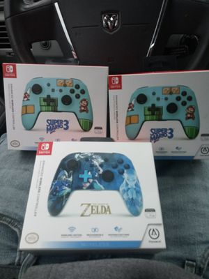 Nitendo switch controllers brand new 3 for 90 for Sale in Delaware, OH