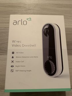 Arlo Wired Doorbell (factory Sealed) for Sale in Houston,  TX