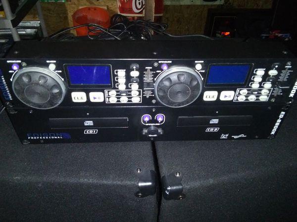 Edson DJ/CD Dual Deck Player- Nice!