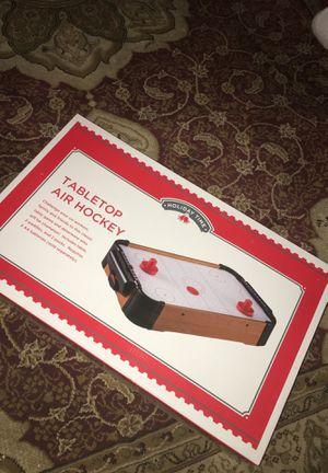 Tabletop Air Hockey for Sale in Hemet, CA
