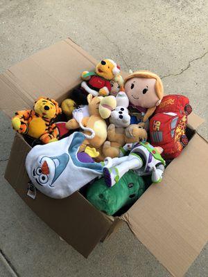 Disney & Etc Plushies Lot 30+ for Sale in Riverdale, GA