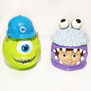 Monsters Inc Disney On Ice Souvenir Boo Mike Wazowski cups for Sale in Tolleson, AZ
