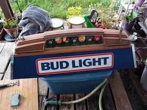 Budlight pool table light for Sale in Houston, TX