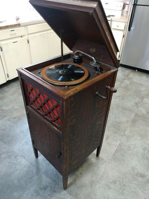 Pathe Antique Record Victrola Player Circa 1910 France for Sale in Columbia, SC