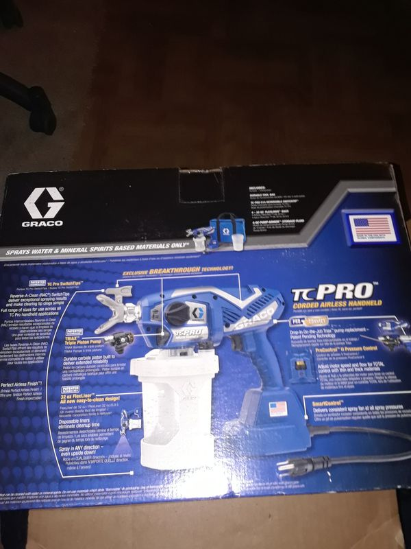 Graco TC Pro Corded Electric Handheld Airless Paint Sprayer for Sale in  Modesto, CA - OfferUp