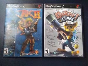 Jak 2 & Rachet and Clank for Sale in Rockville, MD