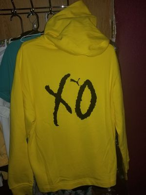Brand new Puma x XO yellow hoodie for Sale in Houston, TX