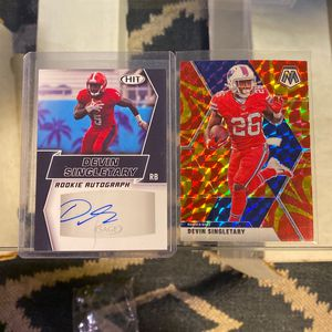 2 Football Cards for Sale in Gilroy, CA