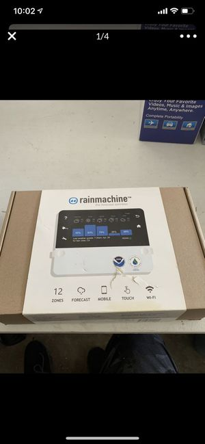 Rain machine wifi controls sprinkler for Sale in Palmdale, CA