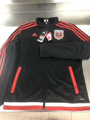 NEW MLS DC UNITED ADIDAS FULL ZIP JACKET SIZE-MEDIUM WOMENS for Sale in Savage, MD