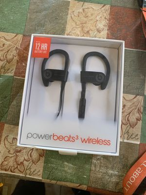 Powerbeats 3 wireless for sale for Sale in Sunny Isles Beach, FL