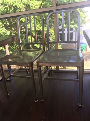 2 metal antique chairs for Sale in Richmond, VA