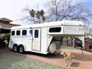 3 horse gooseneck trailer for Sale in Las Vegas, NV