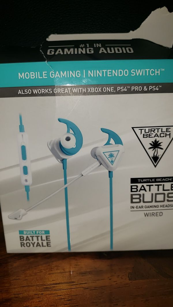 Battle Buds Turtle Beach In-Ear Gaming Headphones