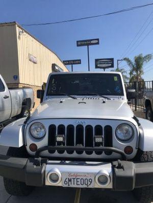 2009 Jeep Wrangler for Sale in Colton, CA