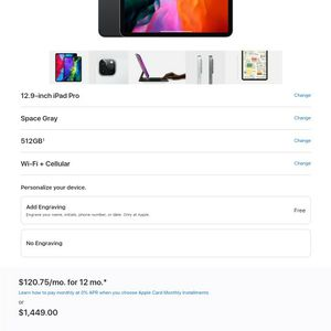 Apple IPad Pro for Sale in West Valley City, UT