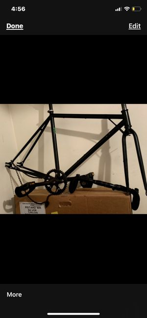 6ku beater frameset , cinelli seatpost , crew seatpost for Sale in Chicago, IL