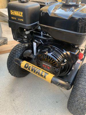 Dewalt 4000 psi pressure washer 4000PSI Gun Wand/Lance Nozzle Tips Hose Kit for Sale in Fontana, CA