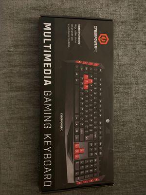 CyberPower keyboard for Sale in Escondido, CA