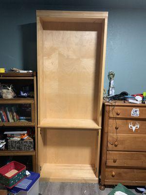Book self and corner shelf for Sale in BETHEL, WA