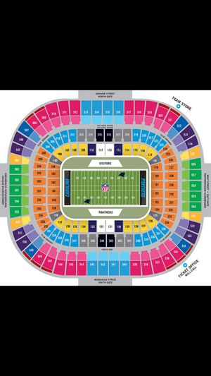 Panthers vs bengals tickets for sale for Sale in Charlotte, NC