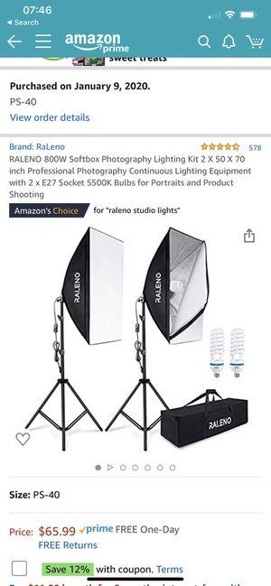 Studio Lights for Sale in Oakland, CA