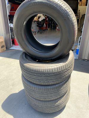 285/60X18 Bridgestone Dueler H/P sport 285 60 18 for Sale in Newport Beach, CA