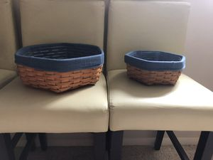 Longaberger Generations Baskets with Liners and Protectors for Sale in Mount Vernon, IL