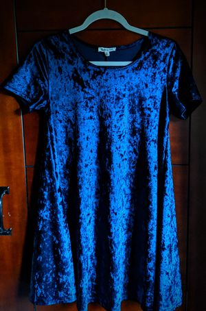Rolla Coster Deep Blue Velvet Dress for Sale in Brentwood, TN