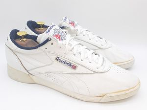 VTG Reebok Classic White Leather Mens Sneakers Shoes Size US 13 for Sale in Hayward, CA