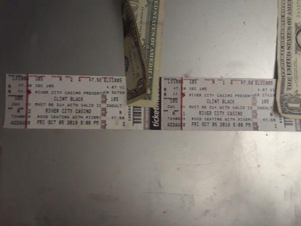 Clint black tickets