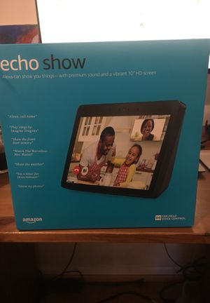 New in box- Amazon Echo Show 2nd Generation for Sale in Silver Spring, MD