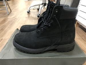 Black Timberland Boots Size 8 for Sale in Philadelphia, PA