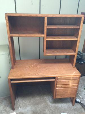 Oak Desk for Sale in Chico, CA