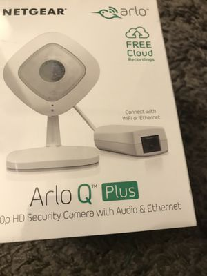 Netgear Arlo Q Plus HD 1080P Security Camera for Sale in West Los Angeles, CA