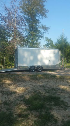 Off Grid Solar TinyHouse Motorcycle Trailer Camper for Sale in Selmer, TN