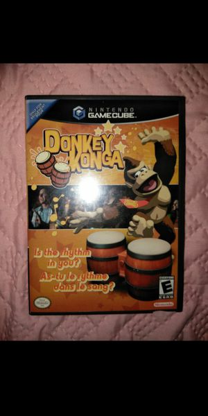 Game cube Donkey Konga for Sale in Los Angeles, CA