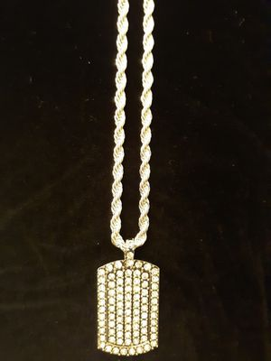 Dog Tag Pendant Necklace for Sale in Acworth, GA
