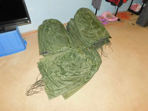 U.S. ARMY GO BAGS ~ GROUP LOT OF 105 BAGS ~ WATERPROOF VINYL AND RUBBER ~ U.S. GOVERMENT ISSUE LAUNDRY & RUCK SACK BAGS for Sale in York, PA
