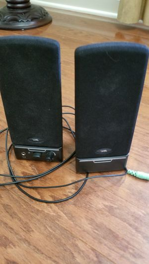 COMPUTER STEREO SPEAKERS FOR COMPUTER for Sale in Fairfax, VA