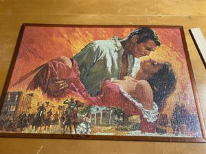 Gone With The Wind Framed Puzzle Poster for Sale in Royal Palm Beach, FL