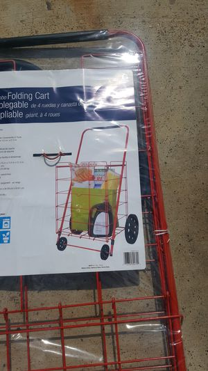 Foldable Cart/Carrito para mandado portatil for Sale in Laredo, TX