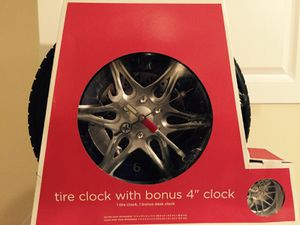 Tire Clock for Sale in Silver Spring, MD
