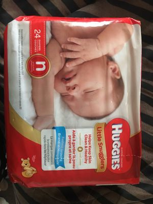 3 packs Huggies newborn for Sale in WARRENSVL HTS, OH