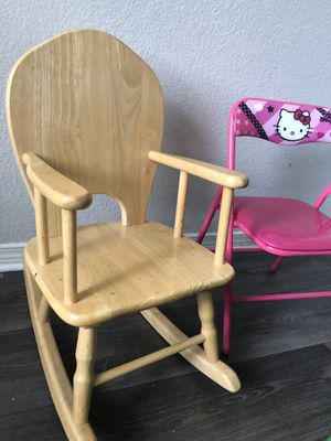 Kids rocking chair for Sale in Denver, CO