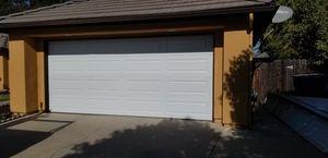 16x7 used garage door with opener for Sale in Parlier, CA